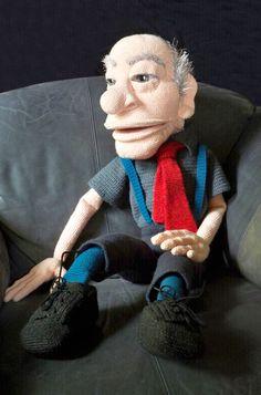 Häkelanleitungen - Handpuppe Opa Häkelanleitung - ein Designerstück von michi-h-art bei DaWanda #crochet