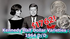 Valuable 1964 Kennedy Half Dollar Varieties to Look For, Kennedy Half Dollars Worth Money Rare Coins Worth Money, Valuable Coins, O Happy Day, All Currency, Coin Worth, Kennedy Half Dollar, Old Coins, Stamp Collecting, Money Management