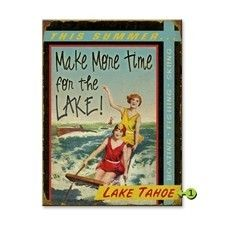 Lake and Cabin Signs Available in Wood, Metal and Personalized | A Simpler Time