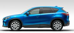 Hello new Car :)  Mazda CX-5.  Coming out in February with some great gas mileage!  Grey Mica Color!