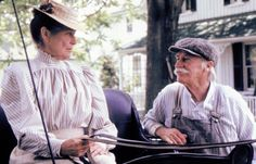 Anne of Green Gables: Matthew Cuthbert Jonathan Crombie, Colleen Dewhurst, Road To Avonlea, Gilbert Blythe, Celebrities Then And Now, Good Movies, Awesome Movies, Anne Shirley, Cuthbert