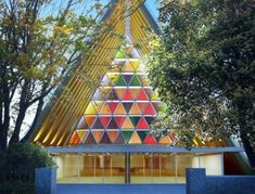 """Shigeru Ban's temporary cardboard cathedral will be erected in Christchurch, New Zealand. Now called the """"Transitional Cathedral,"""" the building will replace a 19th-century church that was heavily damaged in the 2011 earthquake until funds for a permanent building are raised."""