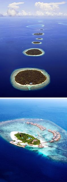 The Maldives - although, the smallest Asian country by land and population both, the Maldives is one of the most beautiful islands in the world | Top 10 most beautiful islands in the world