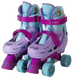 Disney Frozen Kids Rollerskate - She may not be as graceful as Elsa and Anna when she first starts, but she'll get there, and the Disney Frozen Kids Rollerskates are just. Best Roller Skates, Kids Roller Skates, Kids Skates, Quad Skates, Disney Frozen Toys, Frozen Kids, Frozen Frozen, Frozen Stuff, Kids Bike