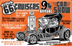 September 23rd- Cruise-In 4:00 p.m. at Ne-Mar Center September 24th- Car Show will be held at Claremore Lake  Three awards will be given per class with over 40 classes  Fun for the Whole Family - Food, Arts & Crafts!  Proceeds benefit the Sponsored Children of the Akdar Shrine  Claremore Lake!