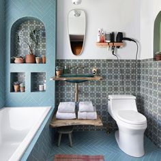 Kohler Bathroom, Small Bathroom, Washroom, Bathroom Fixtures, Modern Bathroom, Bohemian Bathroom, Bathroom Interior Design, Amazing Bathrooms, Chic Bathrooms