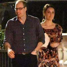 The Duke and Duchess of Cambridge met David Matthews and Jane Parker They met for dinner at hedge fund fiance James Matthews' Kensington home. April 1, 2017