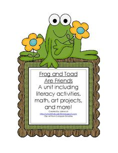 TeacherLingo.com $5.00 - Are you a Frog and Toad fan?  This unit is for you!