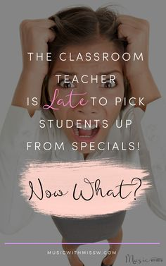 What will you do when the classroom teacher is late to pick students up? Here are some ideas on how to keep students occupied while waiting to be picked up. Singing Lessons, Music Lessons, Teaching Music, Teaching Kids, Music Classroom, Classroom Teacher, Music Teachers, Elementary Music, Elementary Education