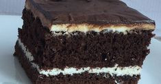 Cheese and chocolate cake Food Cakes, Homemade Cakes, Chocolate Cake, Cake Recipes, Food And Drink, Yummy Food, Delicious Recipes, Cooking Recipes, Sweets