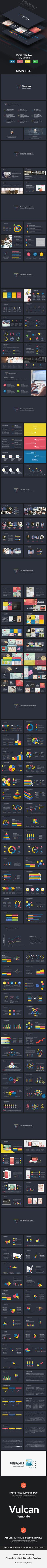 Vulcan Business Powerpoint Template. Download here…