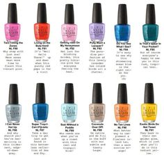 It's your first look at the OPI Fiji Spring/Summer 2017 Collection! Opi Fiji Collection, Nail Polish Collection, Summer Collection, Opi Nail Colors, Fall Nail Colors, Nail Colour, Spring Colors, Opi Nail Polish, Opi Nails