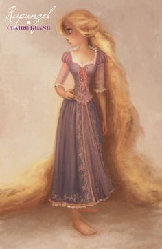 Rapunzel by Claire Keane.