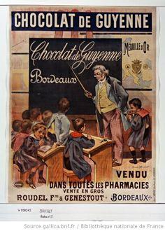 Chocolat de Guyenne... vendu dans toutes les pharmacies... : [affiche] / [Firmin Bouisset] - 1
