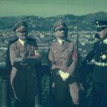 Rudolf Hess with Hitler piazzale michelangelo firenze 1938.