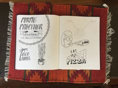 Ace hotel , cactus  illustrations by Andrew conte