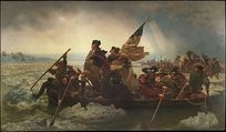 "Emanuel Leutze's ""Washington Crossing the Delaware"" From the Metropolitan Museum of Art"