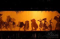 Bali shadow puppets