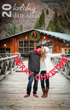 20 holiday date ideas // Our Holiday Date List #dateideas