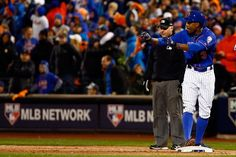 Curtis Granderson NYM///Game 1 NLCS v CHC, Oct 17, 2015
