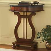 Mom's--harp console table