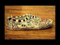 ART EXPLODES ON YOUR SHOES