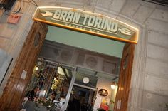 Gran Torino Garage Bar #Barcelona #barriogotico cocina típica italiana y música en directo