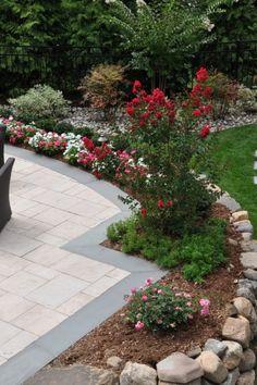12 Beautiful Landscape plans you might try for your backyard Inexpensive Backyard Ideas, Cheap Landscaping Ideas, Landscaping Supplies, Modern Landscaping, Front Yard Landscaping, Elite Landscaping, Landscaping Design, Garden Edging, Diy Garden