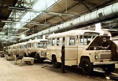 производство автобусов КАвЗ-685