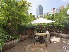Apartamento con terraza y jardines comunitarios en venta cerca de la playa en Vila Olímpica, Barcelona
