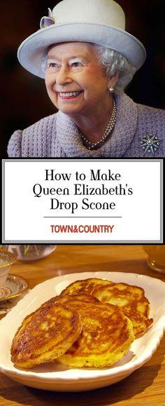 Queen Elizabeth's Drop Scones Recipe - How to Make Drop Scones