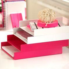 57 best pink images contemporary desk accessories cool office rh pinterest com