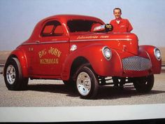 Big John and his  `41 Willys Gasser