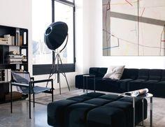 Sofa Tufty-Time -BB Italia - Design by Patricia Urquiola Sofa Design, Canapé Design, Furniture Design, Interior Design, Time Design, Space Furniture, Design Ideas, Patricia Urquiola, Sofa Loft