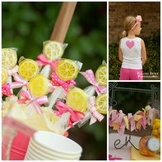 Lemonade Stand Party with DIY Lemonade Stand Kits - Giggles Galore