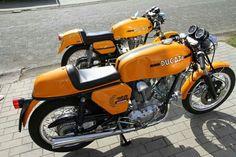 Ducati 750, Ducati Cafe Racer, Ducati Motorcycles, Cafe Bike, Cafe Racers, Ducati Sport Classic, Classic Bikes, Vintage Bikes, Vintage Motorcycles