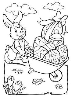 desenhos de coelho de páscoa - Pesquisa Google