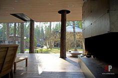 Фото интерьера веранды бани в стиле минимализм