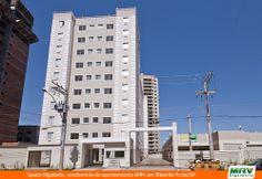 Paisagismo do Spazio Rigobello. Condomínio fechado de apartamentos localizado em Ribeirão Preto / SP.