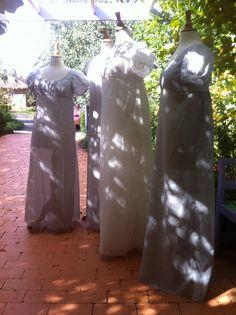 Easy Regency Dress Patterns    (Regency gowns handmade by Aylwen Gardiner-Garden)
