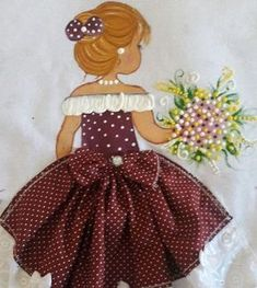 """Craft store Fabric paint & template and applique combined to create the """"look"""". Quilt Block Patterns, Applique Patterns, Applique Quilts, Applique Designs, Quilting Designs, Embroidery Designs, Fabric Painting, Fabric Art, Store Fabric"""