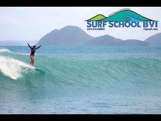 SURF SCHOOL BVI - LEARN TO SURF IN THE BRITISH VIRGIN ISLANDS 2015