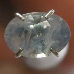 Safir Biru Muda Terang 1.15 carat