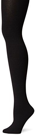 Berkshire Women's Cozy Tight with Fleece Lined Leg, Black, Medium