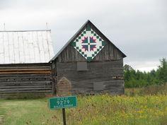 Door County, WI...barn quilts