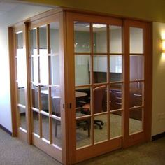 Custom Made Wood Commercial Office Doors.The Brass Covered Doors Where  Custom Made For Seatleu0027s King Street Station Renovation.