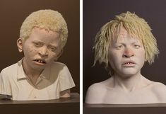 Tip Toland's Life-Like Sculptures Portray Albinism in Tanzania