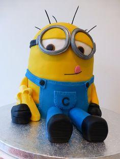 Despicable Me Minion Cake!