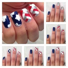 Valiantly Varnished: 4th of July Nail Art and Tutorial - click to read more!
