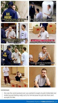 Justin Timberlake pranked